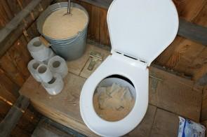 full toilet