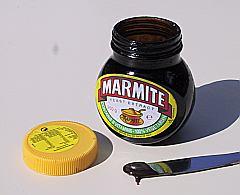Teabags, Marmite andmustard