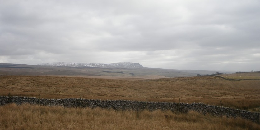 Memories of climbing Pen-y-ghent on New Year 's Day many times