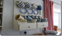 Recycled cup rack